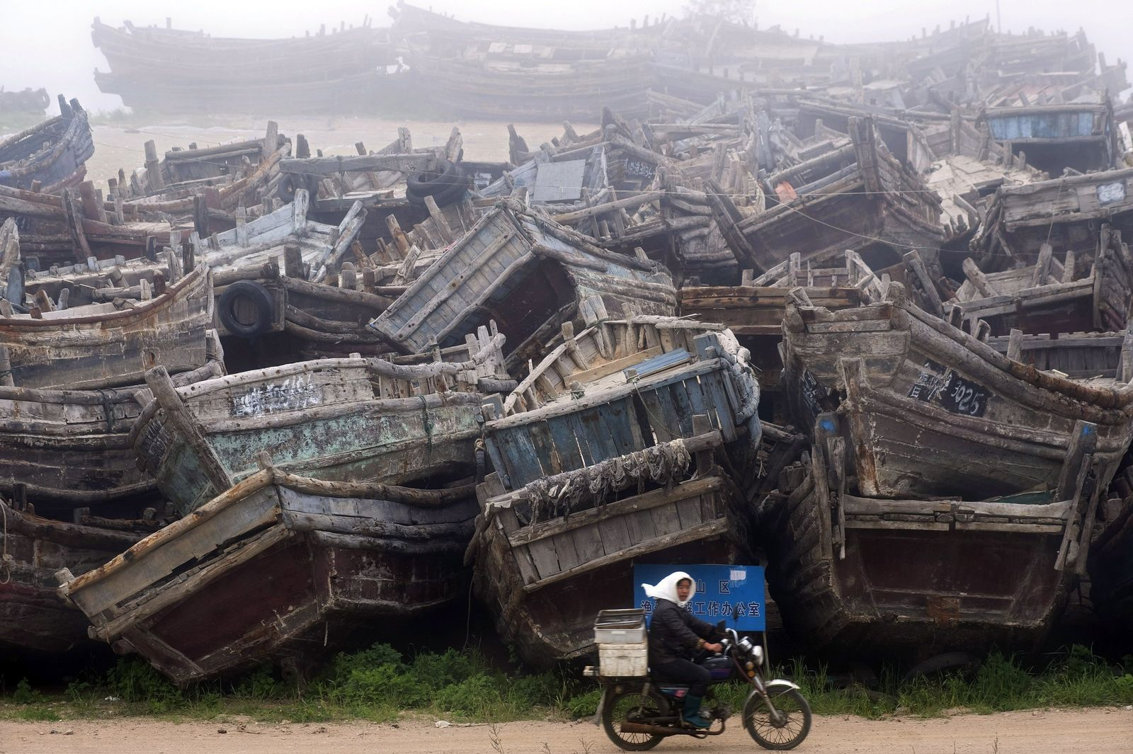 Fishing industry declining resources in East China
