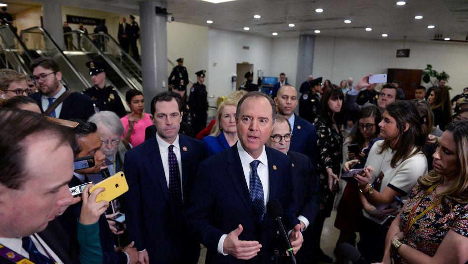 Impeachment-Verfahren gegen Trump: Demokraten stellen im Senat die Gewissensfrage