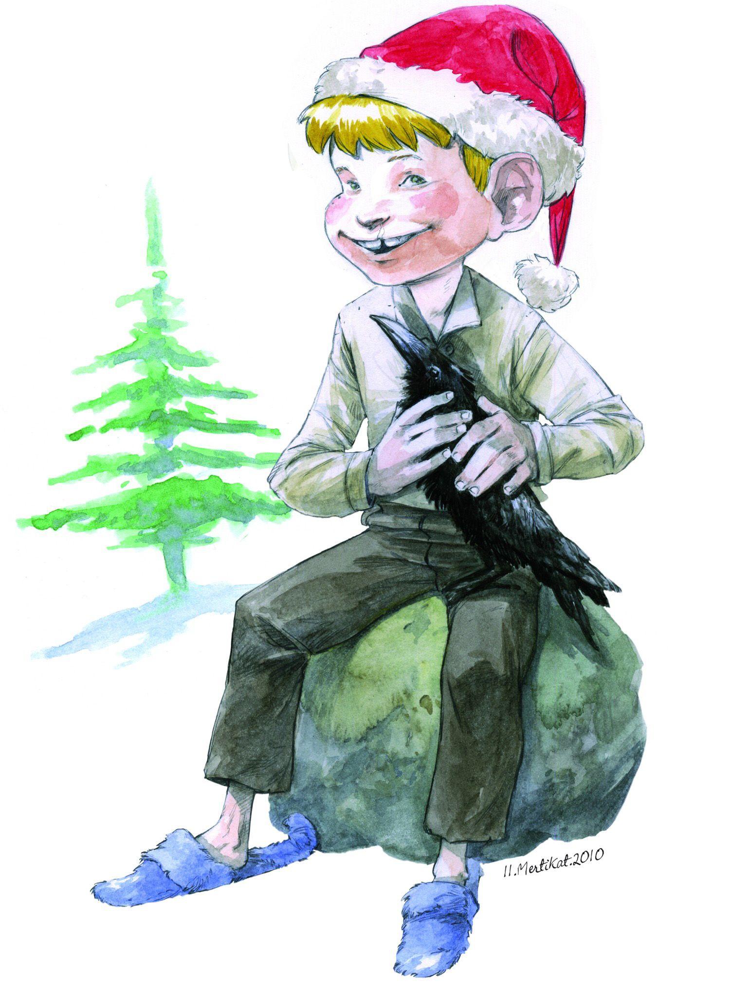 EINMALIGE VERWENDUNG SPON-Weihnachtskalender - Felix Mertikat