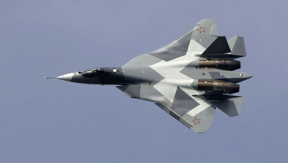 Flugshow in Russland: Spektakel am Himmel