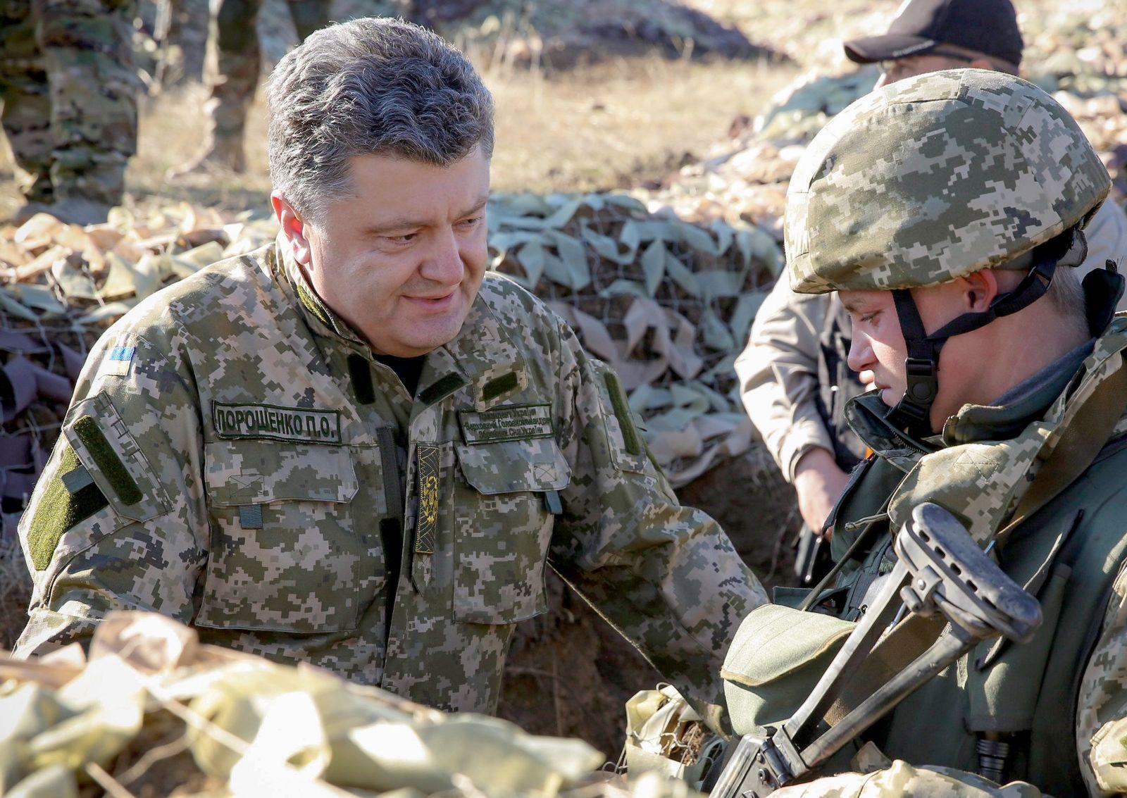 Ukrainischer Präsident Poroschenko