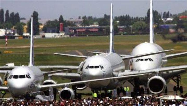 Le Bourget 2005: Showtime für die Luftfahrtindustrie
