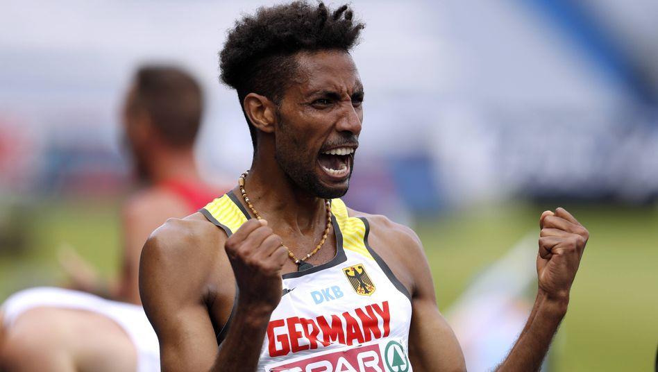 Marathon in 2:07:18 Stunden: Amanal Petros läuft in Valencia deutschen Rekord (Archivfoto, 2017)
