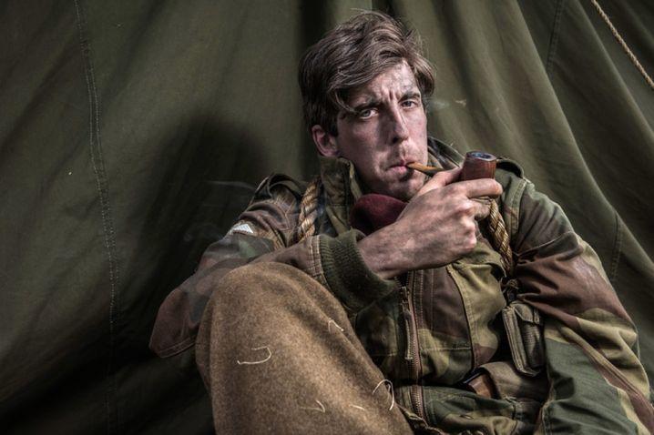 Aufnahme von Cobb: Das Nachspielen der historischen Szenen ist vor allem in Großbritannien und den USA beliebt