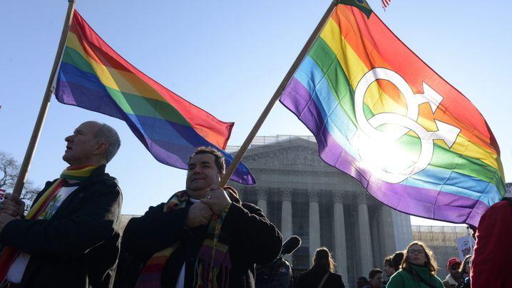 Homo-Ehe in Amerika: Jubel in Washington