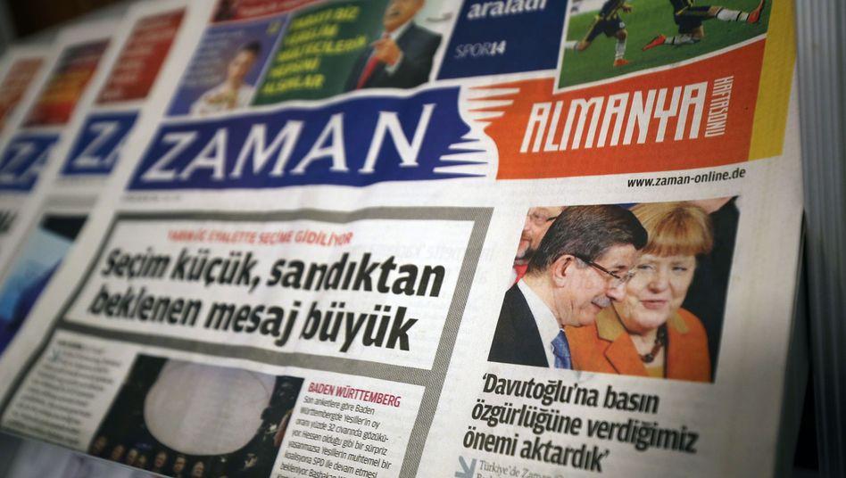 """Deutschland-Ausgabe von """"Zaman"""""""