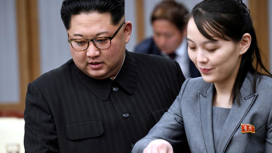 """Machthaber Kim Jong Un, Schwester Kim Yo Jong: """"Ich fühle, dass es höchste Zeit ist, mit den südkoreanischen Behörden zu brechen"""""""