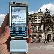 Sightseeing mit dem Handy: In Zukunft soll jedes Monument in einem Barcode Informationen bereithalten