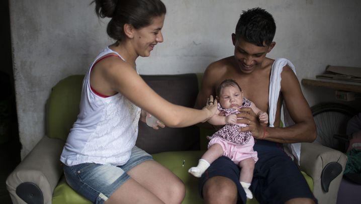 """Zika-Virus in Brasilien: """"Mein Herz hörte fast auf zu schlagen"""""""