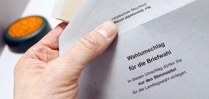 Briefwahl in Hessen: Ungewöhnlicher Fall