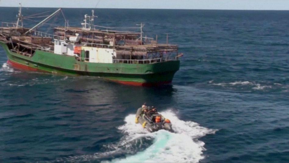 Immer wieder kommt es im Japanischen Meer zu Zwischenfällen (Archivbild)