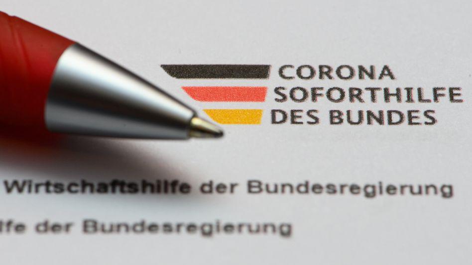 Antrag für Coronahilfe des Bundes