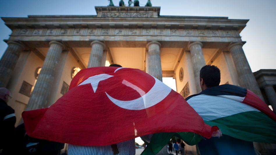 Junge Muslime in Berlin: Viele junge Muslime ohne Willen zur Integration