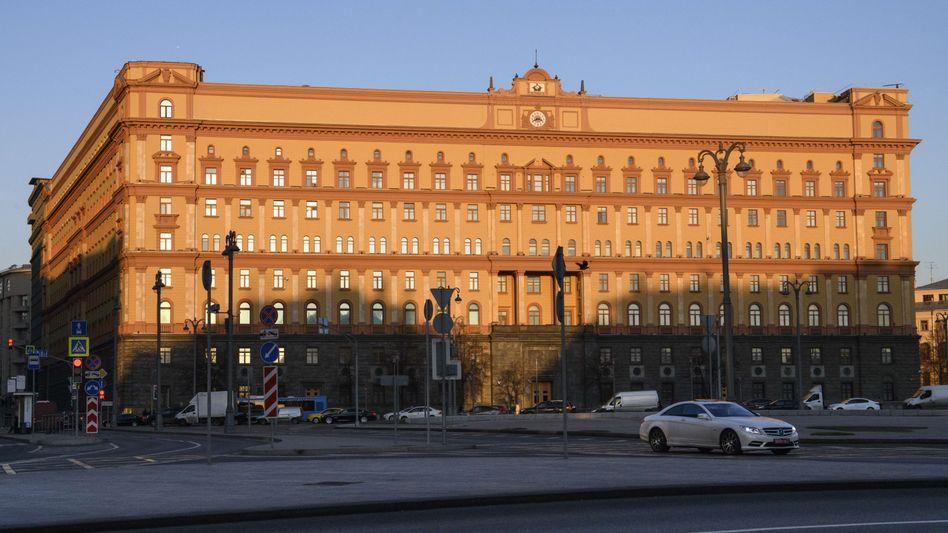Hauptquartier des FSB in Moskau
