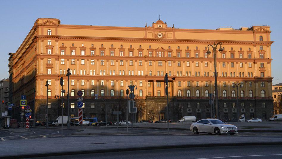 Hauptquartier des russischen Inlandsgeheimdiensts FSB (Archiv)