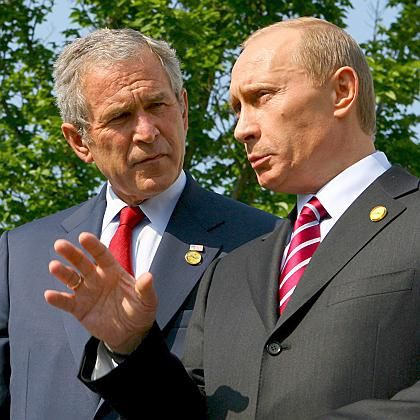 """Bush used to think Putin """"was one of the good guys."""""""