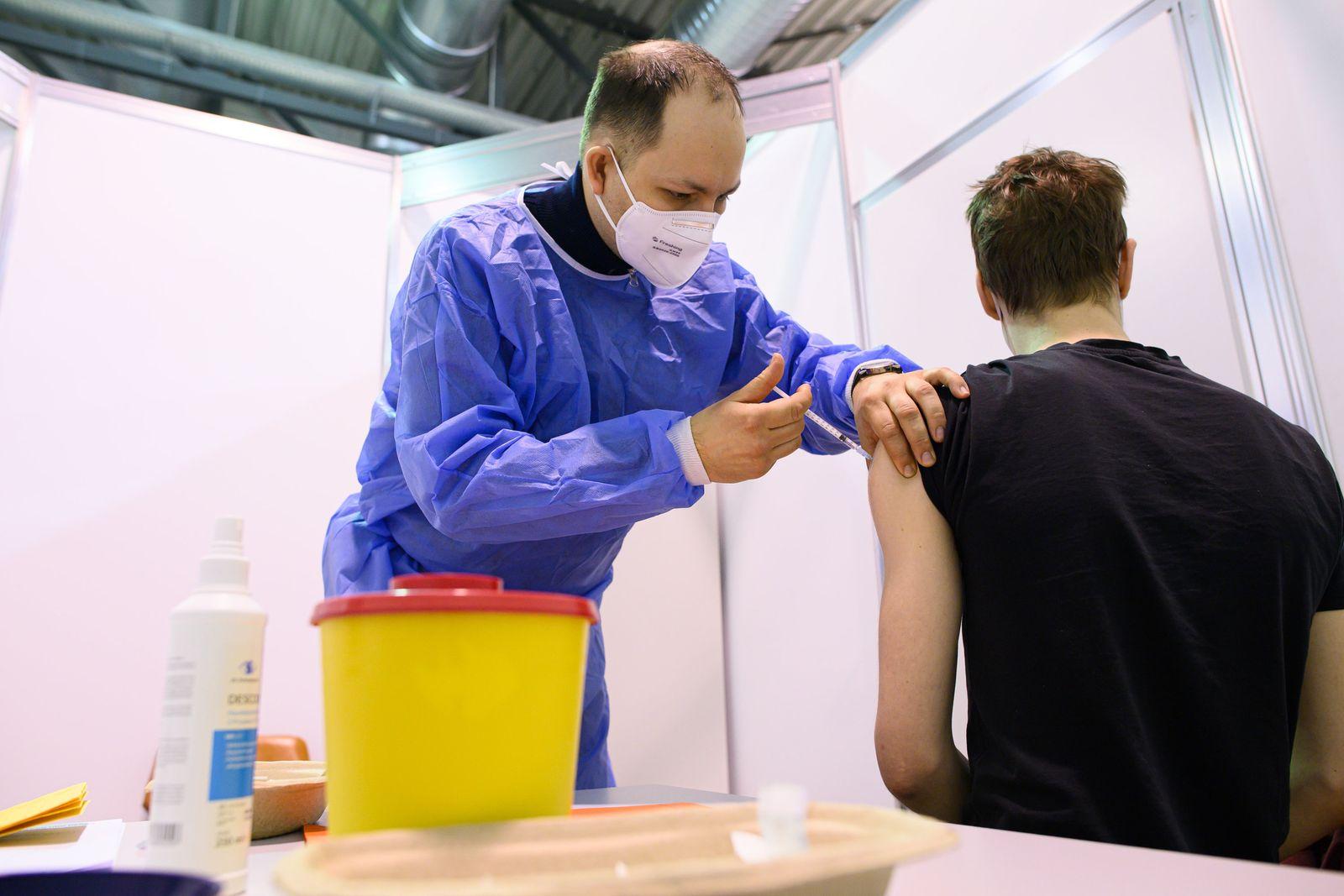 Coronavirus - Impfzentrum Dresden