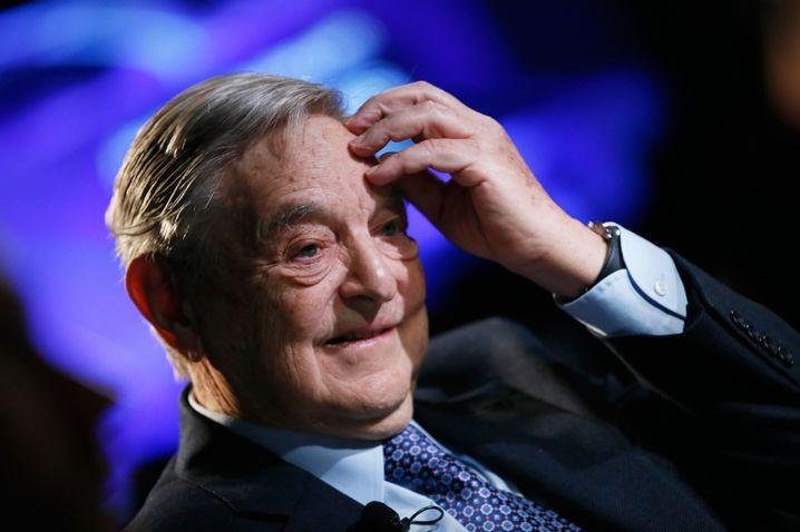 Investorenlegende George Soros: Auch die Linken spenden fleißig