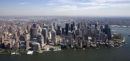 Manhattans Skyline: Studie prophezeit sinkenden US-Einfluss in der Welt