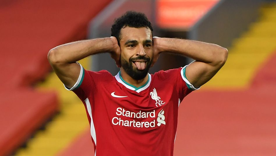 Mohamed Salah erzielte gegen Leeds drei Tore - zwei davon vom Elfmeterpunkt