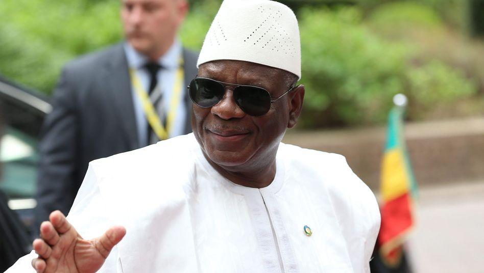 Malis Staatschef Keita: Ernannte Mara zum neuen Ministerpräsidenten