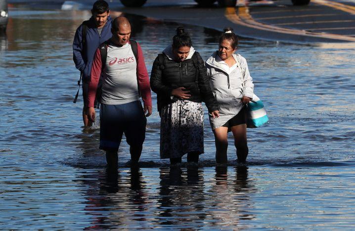 Viele New Yorker verloren durch den Sturm ihr Zuhause und konnten nur ein paar Habseligkeiten retten