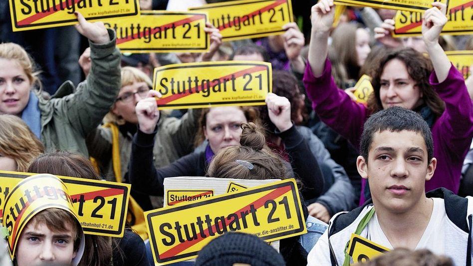 Stuttgart-21-Gegner