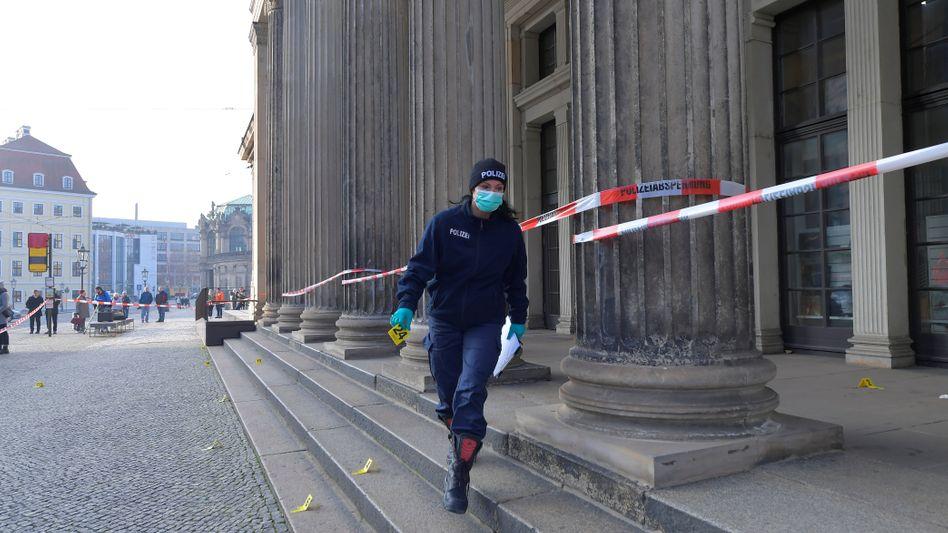 """Ermittlerin in der Dresdner Altstadt: """"Nicht nur die Kunstsammlungen wurden bestohlen"""""""
