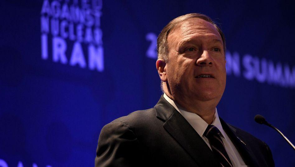 "Mike Pompeo wirft Iran ""nukleare Eskalation"" vor"