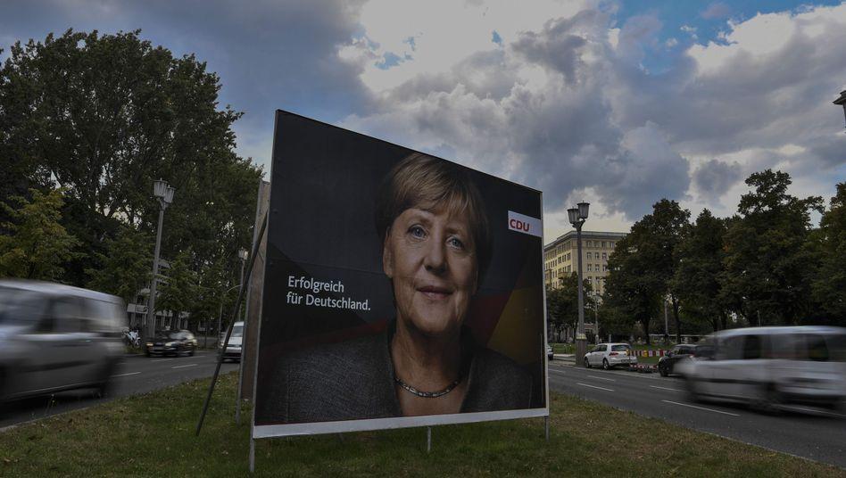 Wahlkampfplakat der CDU