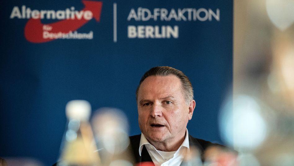 Berliner AfD-Chef Georg Pazderski: Eilantrag abgelehnt.