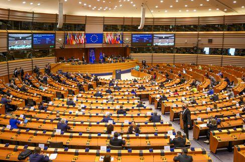 Plenum des Europäischen Parlaments in Brüssel