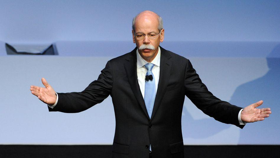 Daimler-Chef Zetsche: Fliegzeuge und automatische Pkw