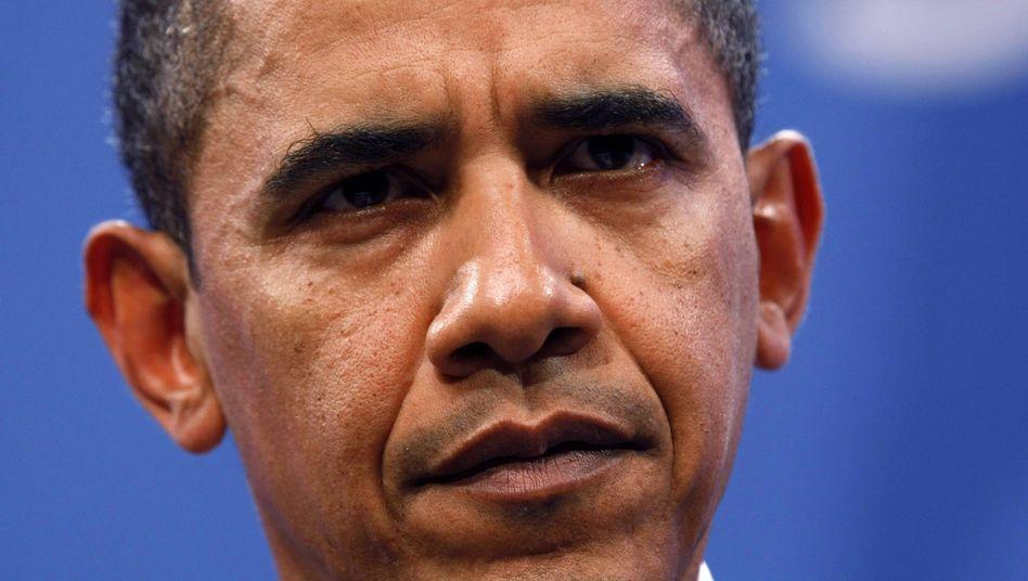 US-Präsident Obama: Deutliche Worte Richtung Iran