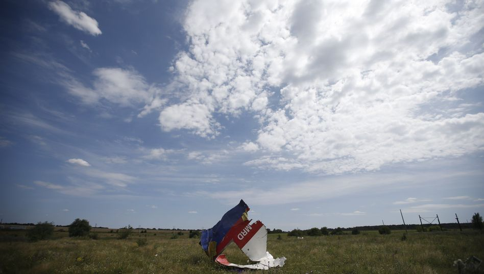 """Wrackteile des Fluges MH17: """"Gerechtigkeit für die Opfer ist unsere Priorität"""""""