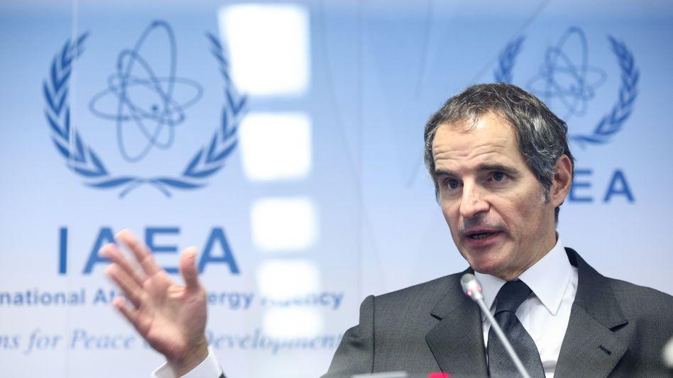 Laut IAEA-Chef Rafael Grossi soll Iran unerlaubt viel Uran angereichert haben