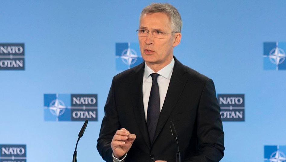 """Jens Stoltenberg: """"Ich erwarte, dass die Alliierten sich weiterhin dazu bekennen, mehr in unsere Sicherheit zu investieren"""""""