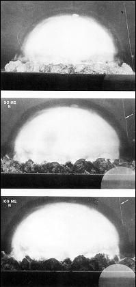 """Bildsequenz des """"Trinity""""-Tests: Eine Explosion verändert die Welt"""
