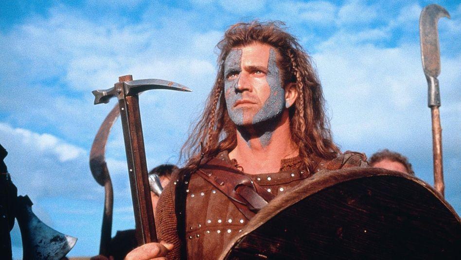"""Brexit mit Blutbad: Mel Gibson will als randalierender Schotte in """"Braveheart"""" möglichst viele Engländer massakrieren"""