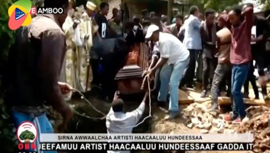 Protest in Äthiopien: Der Tod von Hachalu Hundessa sorgt für Massenproteste