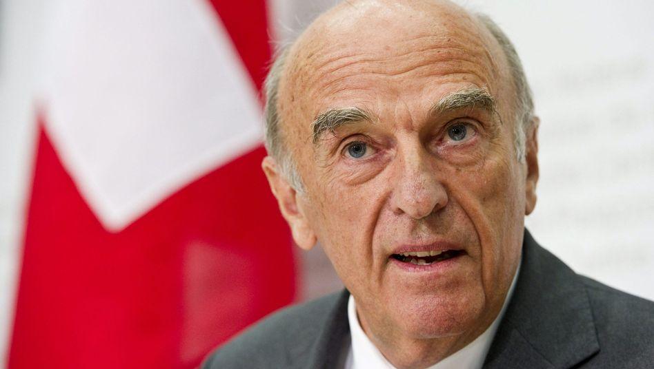 """Schweizer Finanzminister Merz: """"Bilanz gezogen"""""""