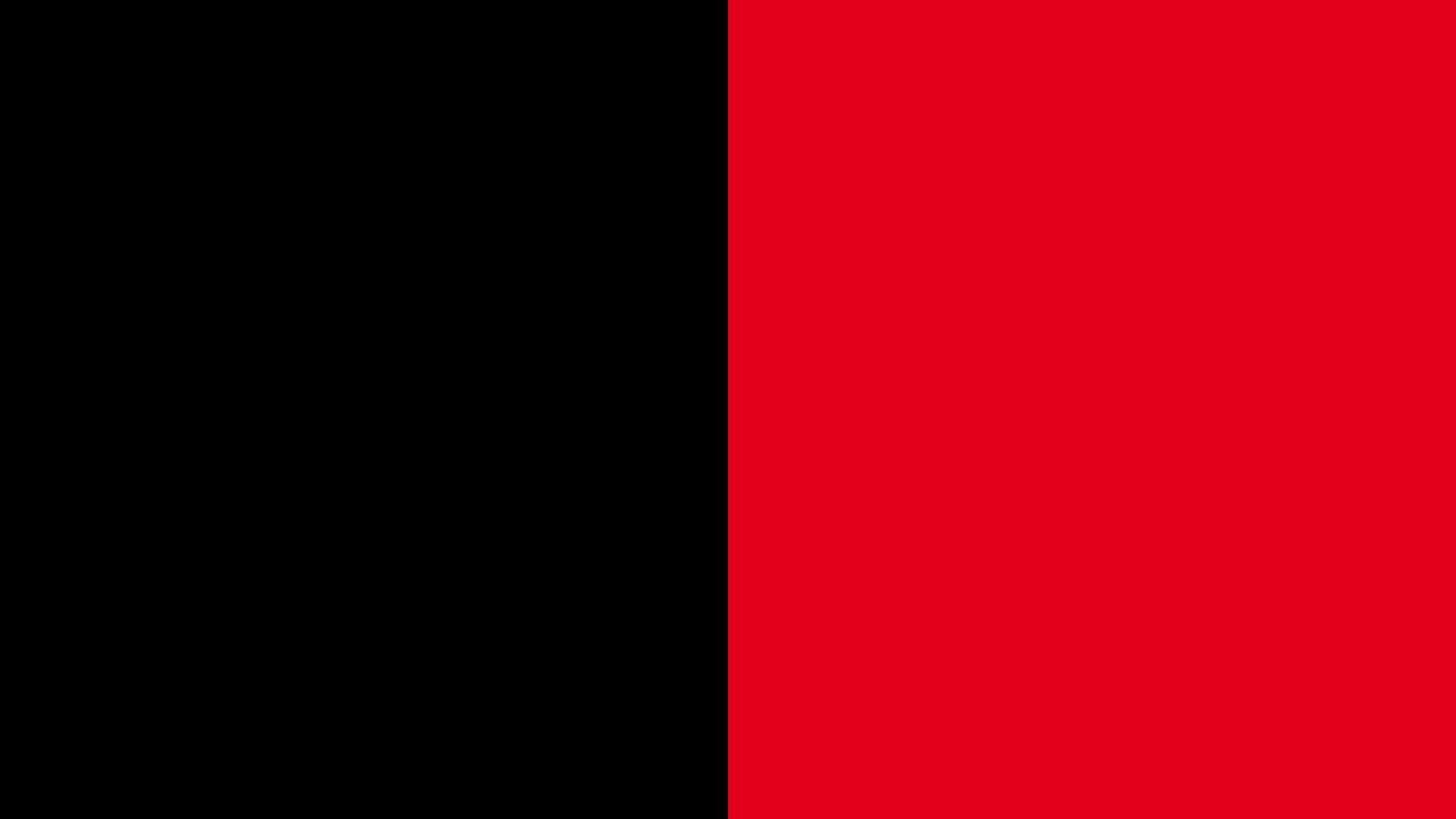Grafik - Koalition Flagge - Große Koalition - Schwarz-Rot