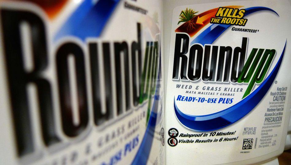 Unkrautvernichter Roundup: In dem Herbizid von Monsanto ist das umstrittene Glyphosat enthalten