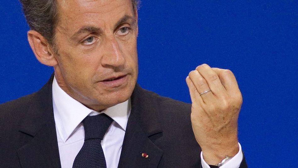 """Frankreichs Präsident Sarkozy: """"Ich habe die innere Überzeugung"""""""