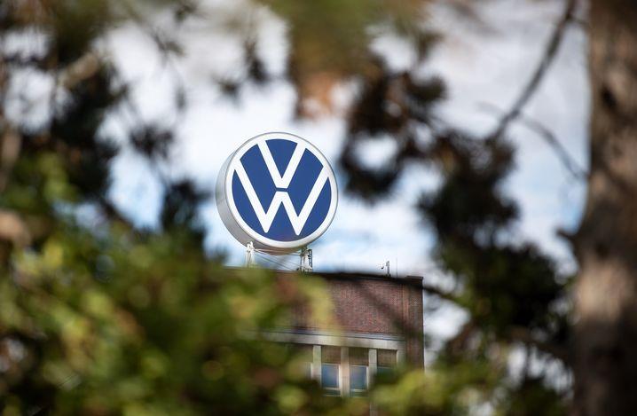 Verwaltungshochhaus des Volkswagen-Werks