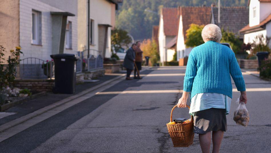 Rentnerin: Lebenserwartung steigt deutlich