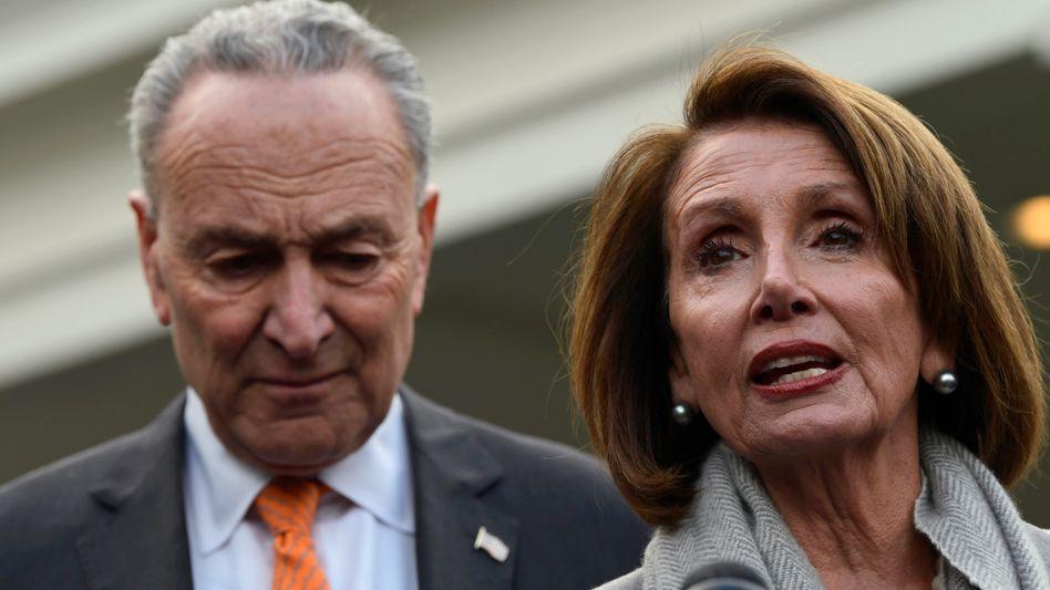 Chuck Schumer und Nancy Pelosi