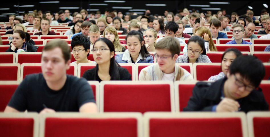 Studenten in Leipzig (Symbolbild)