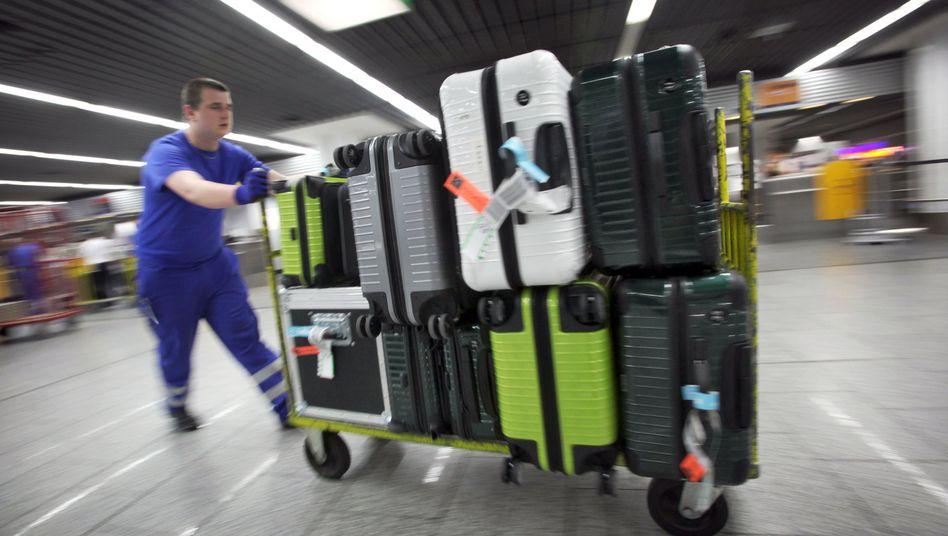 Am Flughafen herrscht immer Hochbetrieb