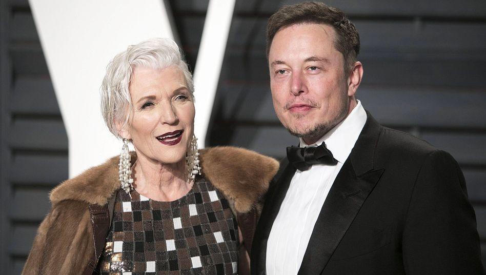 Maye und Elon Musk